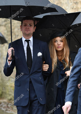 Stock Image of Alexander Spencer-Churchill and Scarlett Strutt