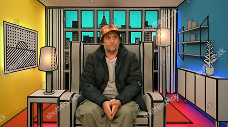 Brandon Block in the diary room