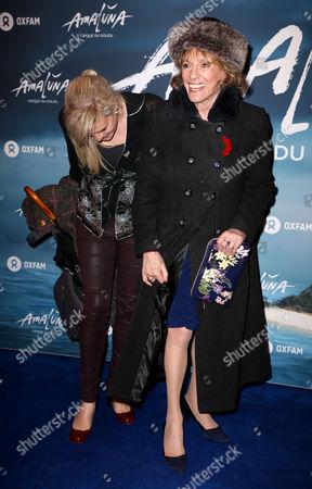 Esther Rantzen and daughter Rebecca Wilcox