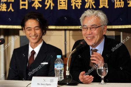 Yosuke Kubozuka and Issey Ogata