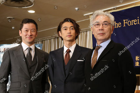 Editorial picture of 'Silence' film press conference, Tokyo, Japan - 12 Jan 2017