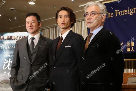 Editorial image of 'Silence' film press conference, Tokyo, Japan - 12 Jan 2017