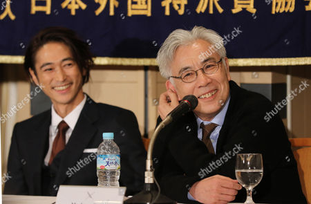 Editorial photo of 'Silence' film press conference, Tokyo, Japan - 12 Jan 2017
