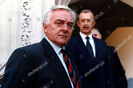 'PD James Mini Series'   TV   'A Mind to Murder'  Picture shows - David Hemmings and Roy Marsden