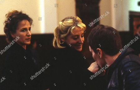 'PD James Mini Series'   TV   'A Certain Justice'  Picture shows - Penny Downie,  Flora Montgomery and Ricci Hartnett