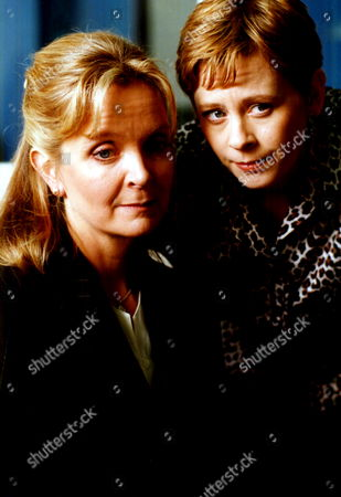 'The Ruth Rendell Mysteries'   TV  'You Can't be Too Careful'  Picture shows - Serena Evans as Della Galway and Jane Hazlegrove as Rosamund