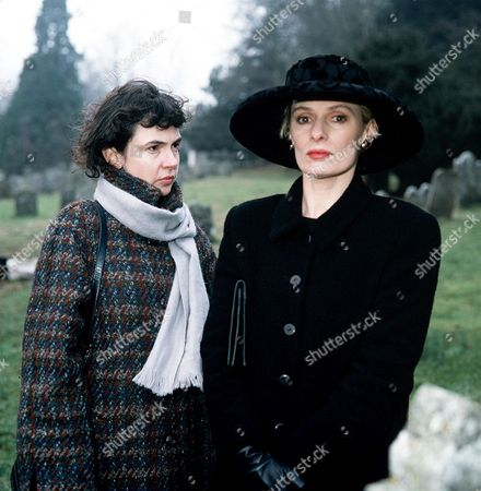 'The Ruth Rendell Mysteries'   TV  'May and June' Picture shows - Phoebe Nicholls as May Thrace and Christine Kavanagh as June Symonds