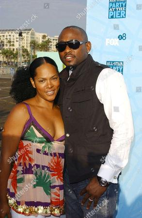 Omar Epps & wife Keisha Spivey