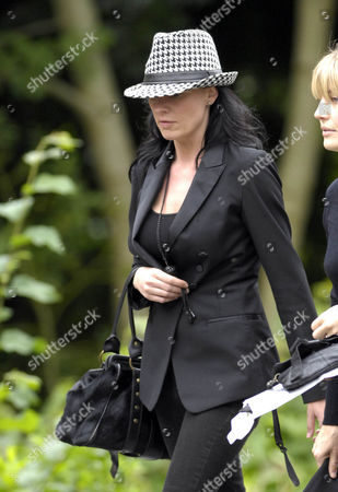 Editorial photo of The funeral of Emmerdale actor Clive Hornby, Rawdon Crematorium, Yorkshire, Britain - July 15, 2008