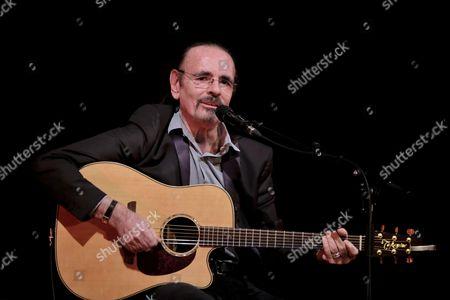 Editorial picture of Nicolas Peyrac in concert, Theatre des Mathurins, Paris France - 09 Jan 2017