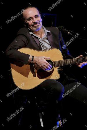 Editorial photo of Nicolas Peyrac in concert, Theatre des Mathurins, Paris France - 09 Jan 2017