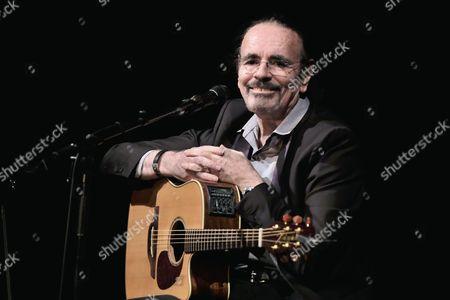 Editorial image of Nicolas Peyrac in concert, Theatre des Mathurins, Paris France - 09 Jan 2017