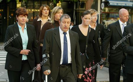 Sharon Chapman (l) Leslie Chapman (2nd L) Nicola Wells (2nd R) and Kevin Wells (far R) Parents of Murdered British Schoolgirls Jessica Chapman and Holly Wells Arrive at the High Court in Central London Thursday 29 September 2005 For a Hearing Set to Determine the Minimum Prison Sentence to Be Served by Their Daughters' Murderer Ian Huntley Ian Huntley Who in 2003 Was Found Guilty of Murdering the Two Ten-year-old Schoolgirls in Soham in Cambridgeshire in 2002 Was Sentenced to a Minimum Term of Forty Years Without the Prospect of Parole