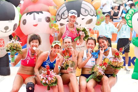 Editorial picture of China Beach Volleyball - Aug 2007