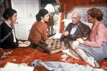 'Brideshead Revisited' - Phoebe Nicholls, Diana Quick, Laurence Olivier and Stephane Audran.