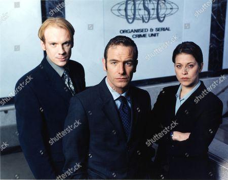 'Touching Evil' TV Mini Series - Adam Kotz, Robson Green and Nicola Walker