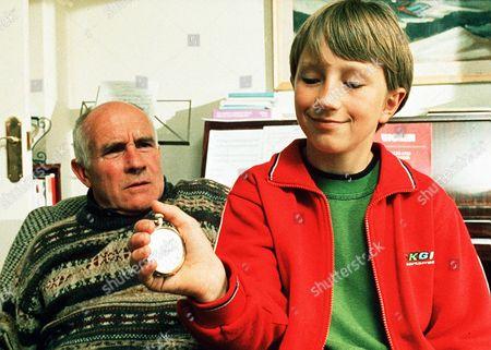 'Bernard's Watch'  - Barry Jackson and Bernard (David Peachey) displaying his watch