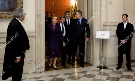 Editorial image of France Norway Diplomacy - Jan 2009