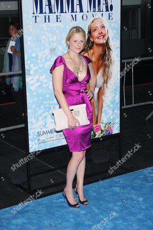Editorial image of 'Mamma Mia!' film premiere at the Ziegfeld Theater, New York, America - 16 Jul 08