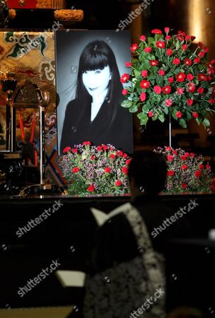Friends and Acquaintances From Japanese Fashion and Entertainment World Gather to Bid Farewell to Japan's First Supermodel Sayoko Yamaguchi During a Memorial Ceremony at Tokyo's Honganji Temple Japan 19 September 2007 Ex-supermodel Sayoko Yamaguchi Died Earlier This Month Allegedly From Suicide According to Friends Close to the Ex-model Yamaguchi Was Japan's First Model to Appear at the Paris Fashion Week in 1972 She Went On to Model For Major Designers Such As Kenzo Takada Issei Miyake and Kansai Yamamoto in 1977 Newsweek Magazine Named Yamaguchi As One of the Top Six Models in the World 19 September Would Have Been Her 58th Birthday
