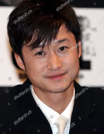Actor Wu Jing Smiles During a Press Conference Held in a Tokyo Hotel to Promote the New Movie Titled 'Spl' Monday 23 January 2006 the Film Will Hit Japanese Screens On March 4th