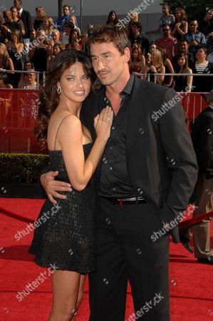 Adriana Lima and Marko Jaric