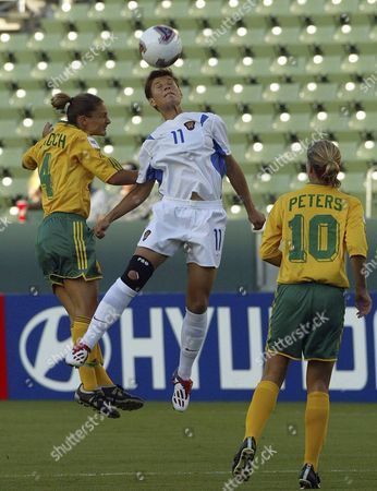 Editorial picture of Soccer Womens's World Cup - Sep 2003