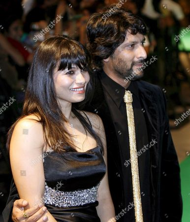 Indian Actor Arshad Warsi and Wife Maria Goretti Walk the Green Carpet Into the International Indian Film Academy (iifa) Awards 2008 in Bangkok Thailand 08 June 2008 the International Indian Film Academy (iifa) Awards For Best Indian Picture Director and Male and Female Actor Are the Bollywood ' Oscars ' of Indian Film and Celebrate Indian Cinema Across the World the Awards Are Held in a Different World City Each Year