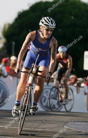 Editorial image of Us Ironman Triathlon - Oct 2005
