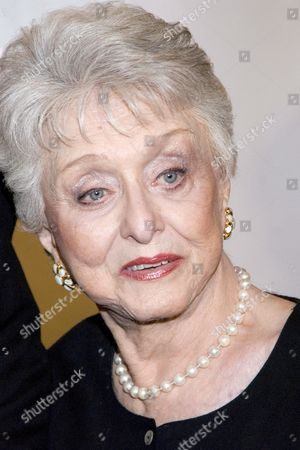 Actress Celeste Holm Arrives For the 17th Annual Night of 100 Stars Gala Celebrating the 79th Annual Academy Awards at the Beverly Hills Hotel in Beverly Hills California Sunday 25 February 2007