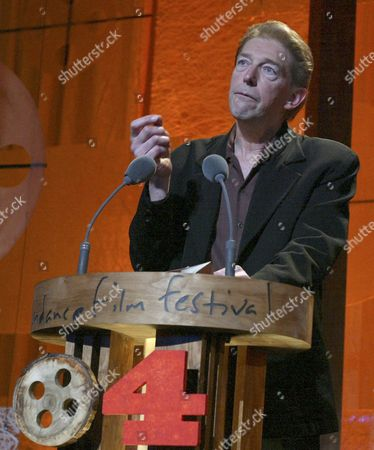 Ferne Pearlstein Accepts the Documentary Cinematography Award For the Film 'Imelda' at the 2004 Sundance Film Festival Awards Show 24 January 2004 in Park City Utah