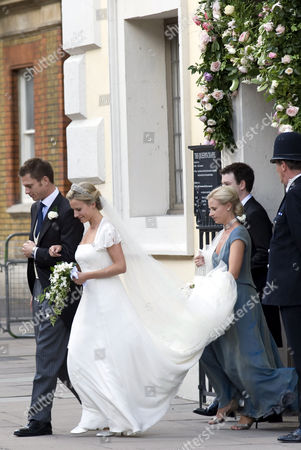 Editorial photo of Wedding of Lady Rose Windsor and George Gilman at the Queen's Chapel, St James' Palace, London, Britain - 19 Jul 2008