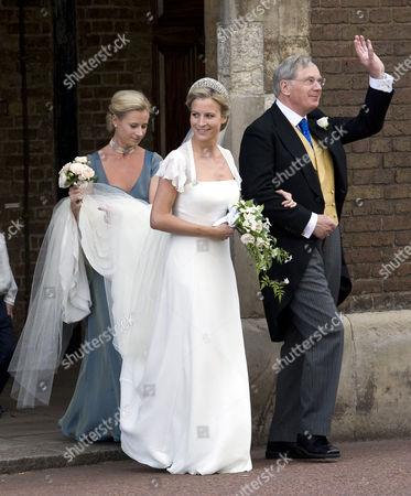 Editorial image of Wedding of Lady Rose Windsor and George Gilman at the Queen's Chapel, St James' Palace, London, Britain - 19 Jul 2008