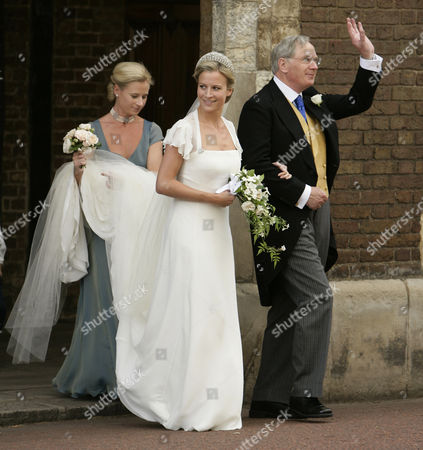 Editorial picture of Wedding of Lady Rose Windsor and George Gilman at the Queen's Chapel, St James' Palace, London, Britain - 19 Jul 2008