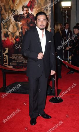 Actor Shin Koyamada Arrives at the U S Premiere of His Film 'The Last Samurai' at the Mann Village Theater in Westwood Los Angeles 01 December 2003 the Film Opens in the U S December 5