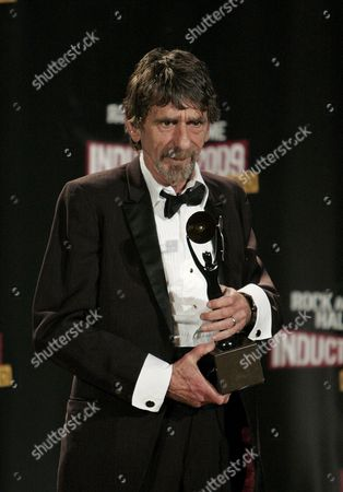 Rock and Roll Hall of Fame Inductee American Songwriter 'Spooner' Oldham Appears Backstage During the Rock and Roll Hall of Fame Induction Ceremony in Cleveland Ohio Usa 04 April 2009 This Year's Inductees Are Jeff Beck Bill Black Dj Fontana Wanda Jackson Little Anthony and the Imperials Metallica Run-d M C Spooner Oldham and Bobby Womack