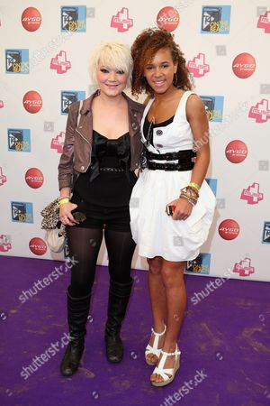 Hollie-Jay Bowes and Dominique Jackson