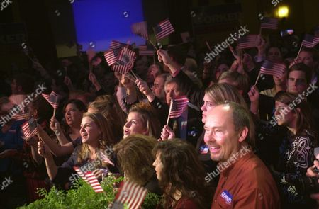 Supporters Celebrate Republican Senator Elect From Tennessee Bob Corker's Victory Over Harold Ford Jr at His Election Night Party at the Chattanoogan Ballroom in Chattanooga Tennessee Early Wednesday Morning 8 November 2006 Corker Beat Democrat Harold Ford Jr in a Closely Watched Race For the U S Senate Corker Former Mayor of Chattanooga Turned Back Ford's Effort to Become the First Black Senator From the South Since Reconstruction
