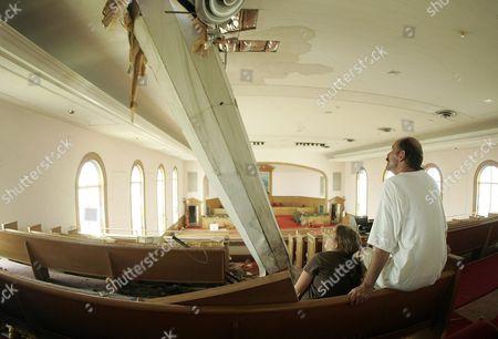 Editorial photo of Usa Hurricane Frances - Sep 2004