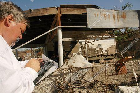 Editorial photo of Usa Hurricanes Katrina Rita - Oct 2005