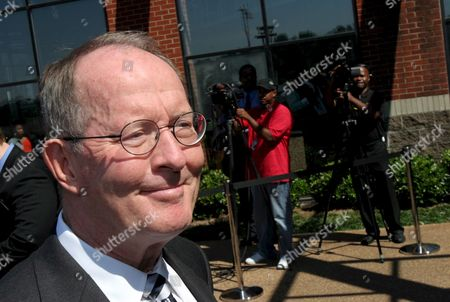 Lamar Alexander Us Republican Senator From Tennessee Attends the Memorial Service For Oscar and Grammy Winning Singer and Composer Isaac Hayes at the Hope Presbyterian in Cordova Tennessee Usa 18 August 2008 Hayes Was Found by Family Members Unresponsive Next to a Running Treadmill 10 August He Was Pronounced Dead a Short Time Later at a Local Hospital His Doctor Listed the Cause of Death As a Stroke Hayes Was Also in the Movie Epa/karen Pulfer Focht