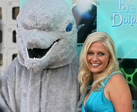 Us Actress Carly Schroeder Arrives For the 'Eye of the Dolphin' Film Premiere in Hollywood California Usa 21 August 2007