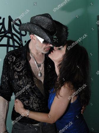 The Alabama 3 group   Robb Spragg AKA Larry Love and  Samantha Love