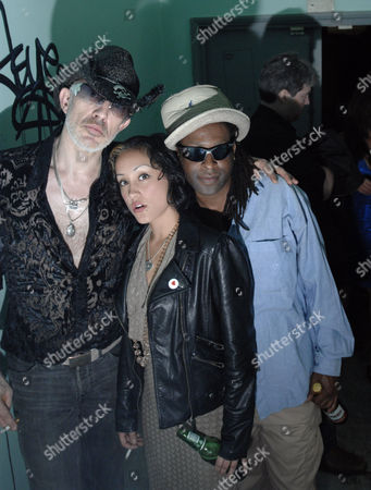 The Alabama 3 group, Robb Spragg AKA Larry Love, Zoe Delvin AKA Devlin Love and Errol T