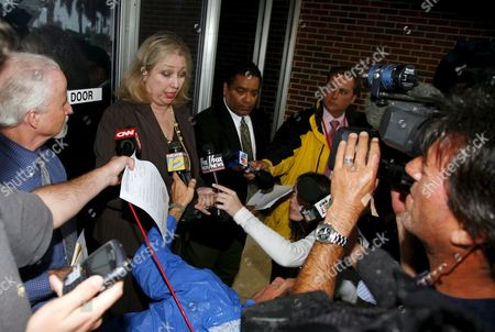 Marilyn Beuttenmuller (c) Clerk Fourth District Court of Appeal Informs the Media That the Anna Nicole Smith's Mother Virgie Arthurs Emergency Motion to Stay Enforcement of the Trail Court's 22 February 2007 Order is Granted Until Further Order of the Court On Monday 26 February 2007 in West Palm Beach Florida Further Ordered That All Respondents Shall File a Response to Petition For Writ of Certiorari by 2:00p M Tuesday 27 February 2007 the Order Was Served to Howard Forman Clerk Susan Brown Dr Joshua Perper Medical Examiner Roberta Mandel Attorney Mary Krista Barth Hon Larry Seidlin Nancy Hass and Attorney Richard Milstein