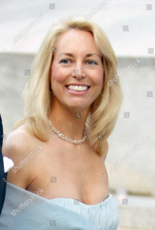 Stock Image of Former Cia Agent Valerie Elise Plame Wilson and Her Husband Former Ambassador Joe Wilson (unseen) Arrive to the 2006 Vanity Fair Tribeca Film Festival Party in New York Wednesday 26 April 2006