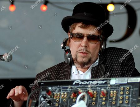 Founder of the Specials Jerry Dammers Dj's at the Rise Festival in London Britain 13 July 2008 Close to a Hundred Thousand People Turned out For London's Annual Rise Festival That Promotes Diversity in Britain's Capital City