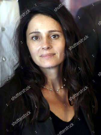 French Actress Anouk Grinberg Poses During the Photocall As a Member of the Jury of the 33nd American Film Festival of Deauville September 3 2007