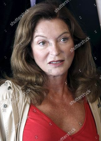 French Director Screenwritter and Actress Marie-france Pisier Poses During the Photocall As a Member of the Jury of the 33nd American Film Festival of Deauville September 3 2007