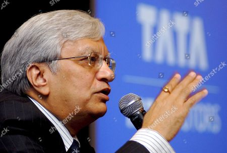 Ravi Kant Managing Director Tata Motors Speaks During the Announcement of the Companies First Quarter Results For Year 2008-09 in Mumbai India 30 July 2008 Tata Motors Reported a 14 4 Per Cent Increase in Revenues in the First Quarter of the Financial Year 2008-09